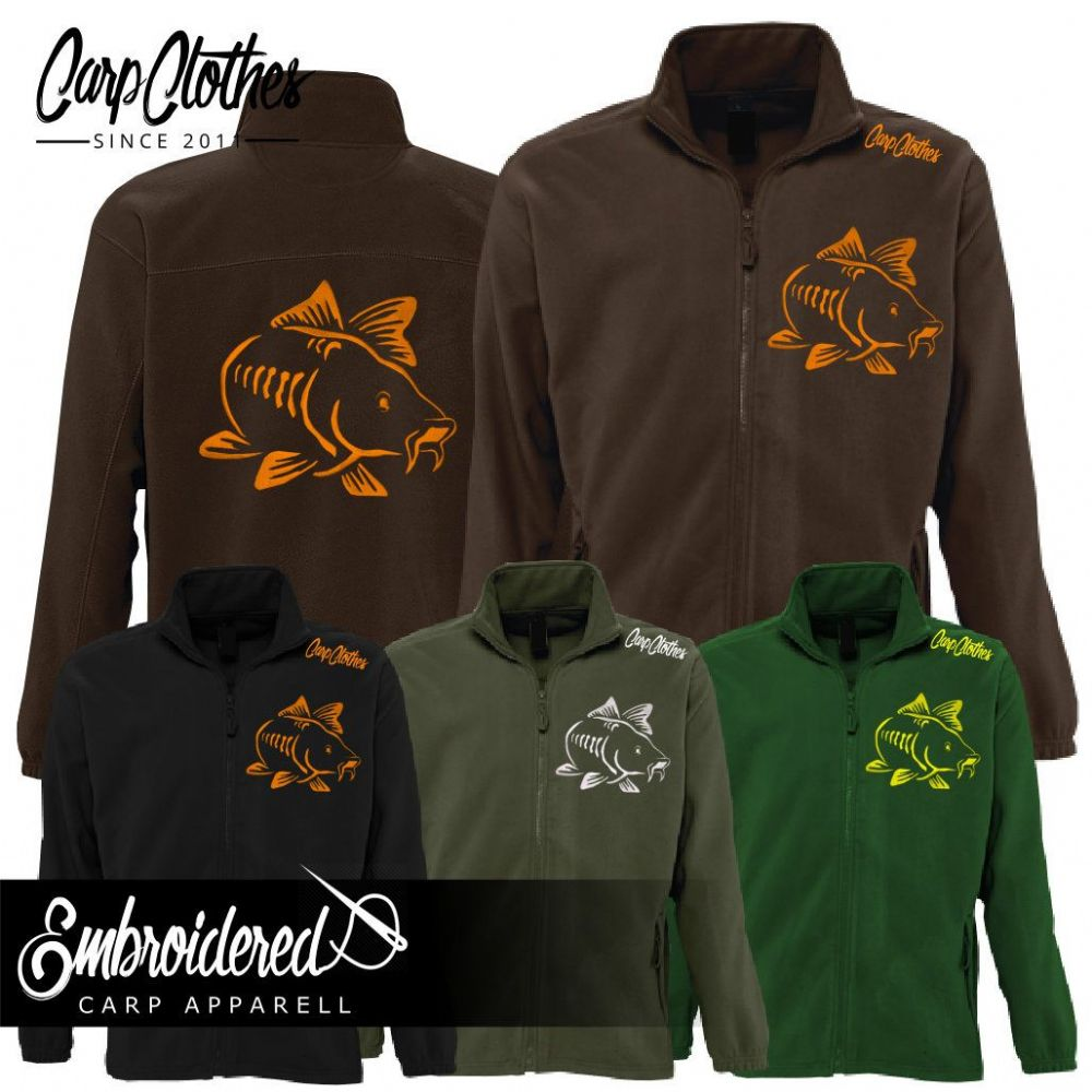 003 EMBROIDERED FLEECE JACKET